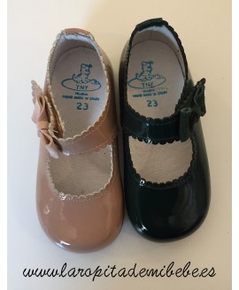 Mercedita niña charol lazada Tinny Shoes