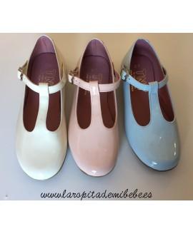 Zapato trabilla charol Tinny Shoes